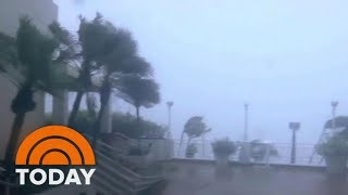 Hurricane Maria Leaves Puerto Rico Dark, Knocking Out All Power To Island | TODAY