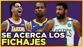 FICHAJES de Kevin Durant y Kyrie Irving ya estan casi hechos | Salarios completos de equipos de NBA