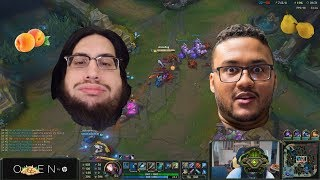 Imaqtpie and Aphromoo duoQ funny moments - Food experts