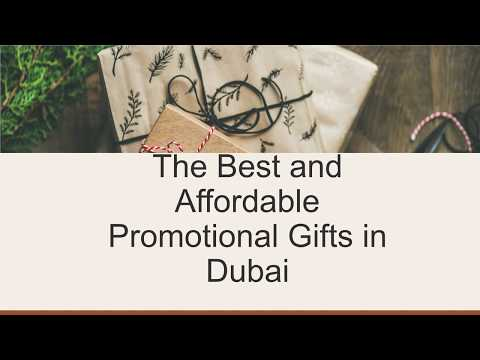 The Best and Affordable Promotional Gifts in Dubai