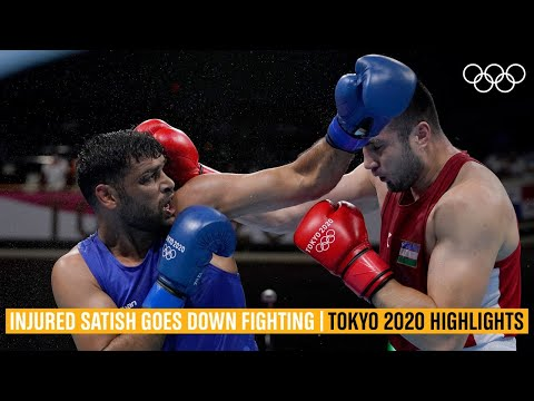 Courageous Satish Kumar goes down fighting- Tokyo 2020 Highlights