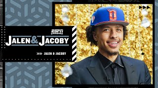 Cade Cunningham on being the No. 1 overall pick to the Pistons   Jalen & Jacoby