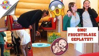 OMG! 😱FRUCHTBLASE GEPLATZT! BABY KOMMT PRANK! TRÄNEN & Mega Aufregung  - Family Fun