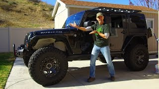 A MUST Upgrade for Jeep Wranglers with Six Speed Trans - B and M Sport Shifter