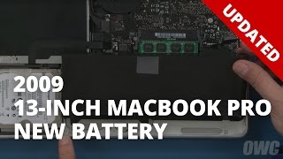 How to Replace the Battery in a 13-inch MacBook Pro Mid 2009 (Updated)