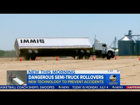 Truck Safety with RollTek - ABC News / GMA