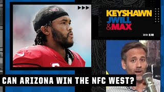 IF Kyler Murray stays healthy, the Cardinals could win the NFC West - Max Kellerman   KJM