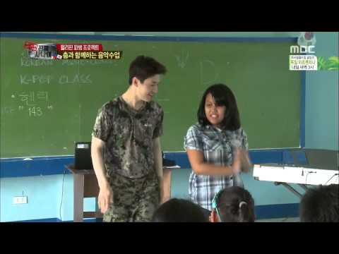 140713 real man - henry dancing to exo's growl