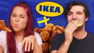 Ikea Food TASTE TEST! (Cheat Day)