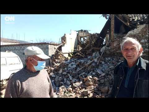 Μεγάλες ζημιές στο Μεσοχώρι Νο 2.  Σεισμός. 3ος 2021