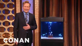 Conan Reunites With Samuel The Octopus  - CONAN on TBS