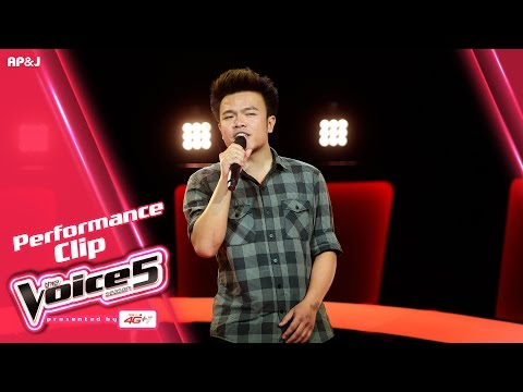 The Voice Thailand - แบงค์ พีรพัฒน์ - กรุณาฟังให้จบ - 25 Sep 2016