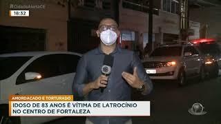 Idoso de 83 anos vítima de latrocínio no Centro de Fortaleza
