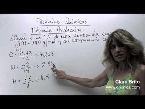 Fórmulas químicas 2