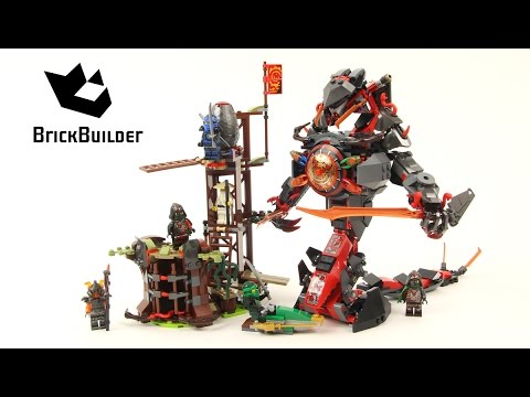 Lego NINJAGO Dawn of Iron and Samurai VXL Unboxing Build Review ...