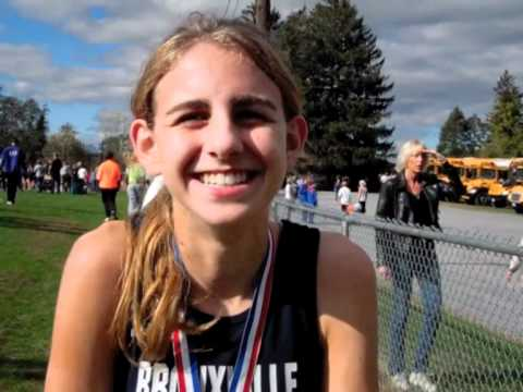 Mary Cain Interview After Breaking Section 1 Record at Bowdoin Park