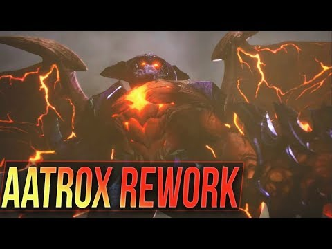 AATROX REWORK TEASER Preview & New Abilities Speculations - League of  Legends. Aatrox 2018 new abilities speculations gameplay preview.