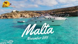 Trip to Malta in November (travel video guide)| Best Places filmed | HD
