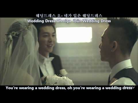 Taeyang wedding dress dance mirror cheap