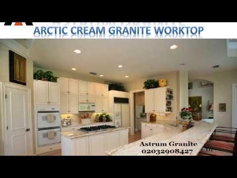 Arctic Cream Granite Worktop in London - Astrum Granite