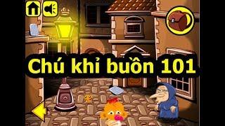 Chú khỉ buồn 101, Chơi game chú khỉ buồn online tại Gamehay24h.vn