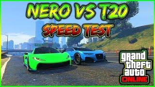 GTA 5 ITA - SPEED TEST: TRUFFADE NERO VS PROGEN T20 / GTA 5 ITA NEW DLC IMPORT/EXPORT