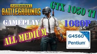 Battlegrounds REVIEW - G4560 GTX - 1050 TI - 1080p - All Medium