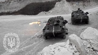 Учбові стрільби БТР-80 80-ї ОДШБр ЗСУ