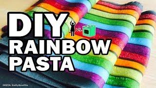 🌈 I Tried Tasty's Rainbow Pasta, Corinne VS Cooking