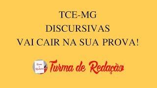 TCE MG - Discursiva 2018