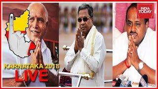 Karnataka Polls Live   Polling Begins; Congress, BJP & JD(S) Locked In  3 Cornered Battle