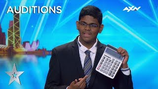 15 Year Old YAASHWIN SARAWANAN Is A HUMAN CALCULATOR! | Asia's Got Talent 2019 on AXN Asia