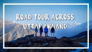 Road Tour across Uttarakhand in Winter | Auli Chopta Tungnath Chandrshilla in Snowfall