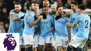 Raheem Sterling earns controversial hat trick for City against Watford | Premier League | NBC Sports