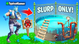 I Went UNDERCOVER in a SLURP ONLY Tournament! (Fortnite)