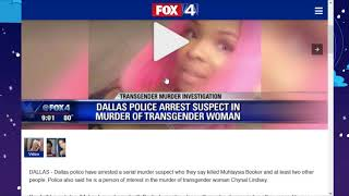 Transgender Muhlaysia Booker was killed by serial killer. He's been arrested