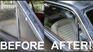 How to Clean Car Window Glass Cheap and Easy