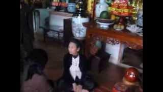 Lập biên bản hiện trạng thay đổi tượng Phật tại chùa Chân Long 15-03-2012 (2)