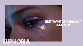"RUE ""WINTER FORMAL GLITTER""  MAKEUP LOOK 