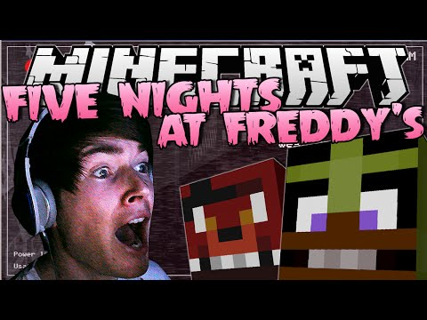 FIVE NIGHTS AT FREDDY'S | INSANE Jumpscares! | Minecraft