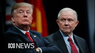 """I FIRED HIM!"" Donald Trump sacks US Attorney-General Jeff Sessions 