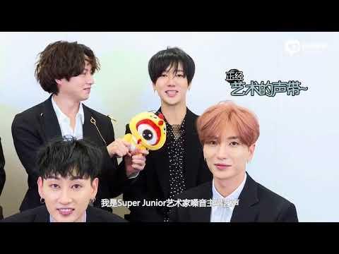 171120 新浪韩娱 Super Junior 独家采访 || Super Junior Sina Interview