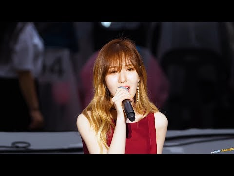 170708 SMTOWN LIVE - 웬디(레드벨벳) 'Stay With Me' 4K 직캠 by DaftTaengk