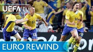 EURO 2004 highlights: Sweden 1-1 Italy