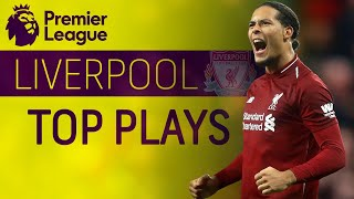 Liverpool's top moments on their road to the top of the table | Premier League | NBC Sports