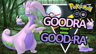 New GOODRA gains 131 Points in Ultra Premier!! Pokemon Go Battle League!