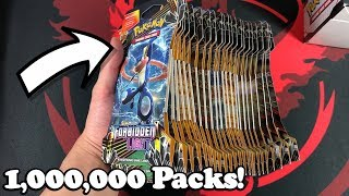 OPENING ONE MILLION FORBIDDEN LIGHT BOOSTER PACKS! (INSANE RESULTS)