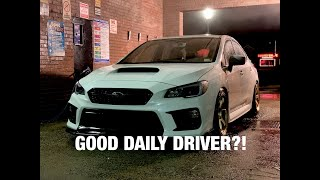 Subaru WRX - Good daily driver?!
