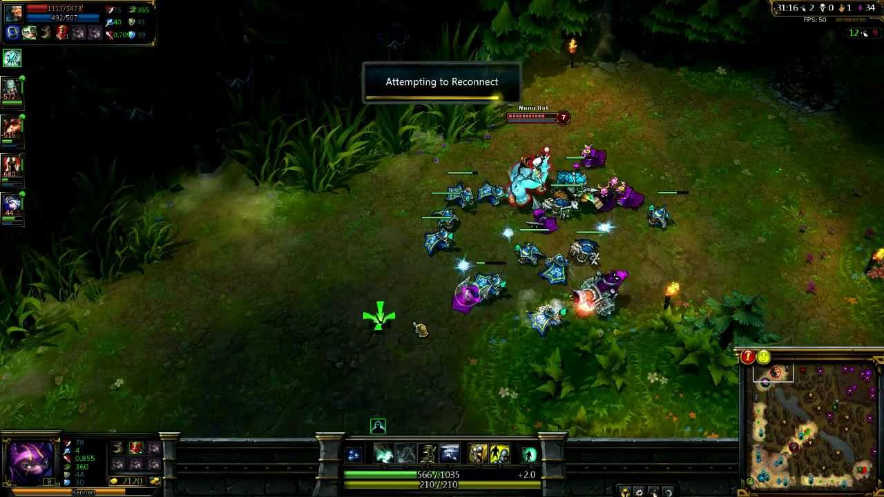 LoL Effects of Lag on Champion Selection | NERFPLZ LOL