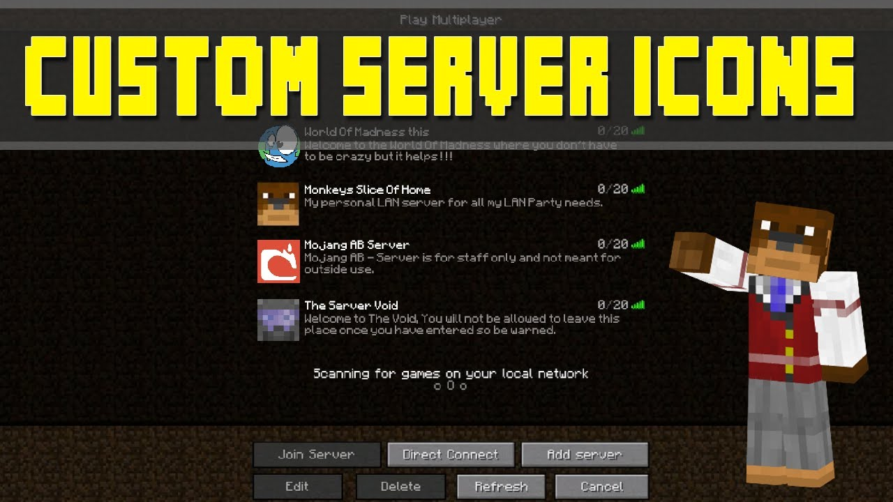 Item icon minecraft server